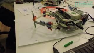 Принтер из Lego Mindstorms. Слобода IT.