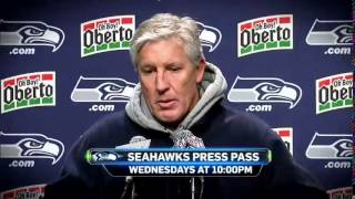 Seahawks Press Pass Schick Shadel Promo