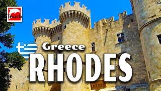 RHODES (Ρόδος, Rhodos, Rodos) - Overview, Greece - 85 min. guide