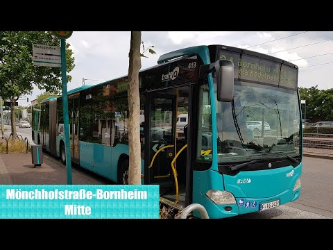 Bus Frankfurt Am Main - Linie 34 Mitfahrt