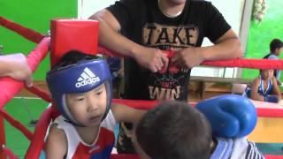 Бокс. Юнный талант Калмыкии.