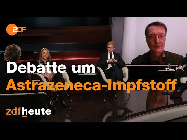 Lauterbach über die Sicherheit von Astrazeneca| Markus Lanz vom 18. März 2021
