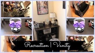 Diy Pallet And Brush Holder | Recreation Vanity