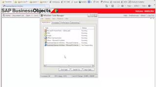 Business Objects XI R3 Infoview or IE Freezing / not responding error - FIX