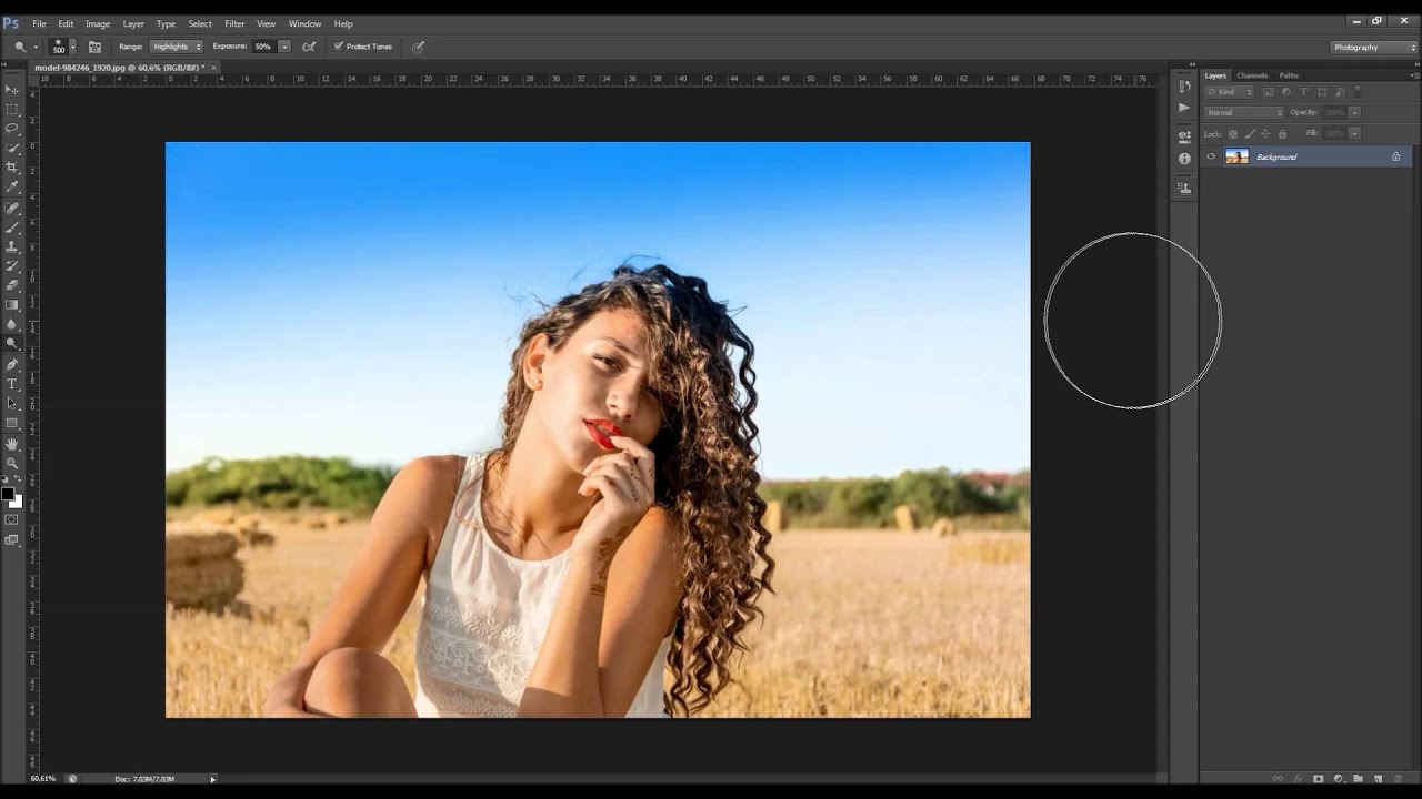 How to use the dodge and burn tools in adobe photoshop youtube baditri Choice Image
