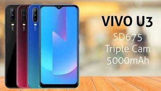 Vivo U3 full specifications price and review in Bangla