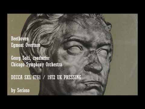 Beethoven, Egmont Overture, Solti