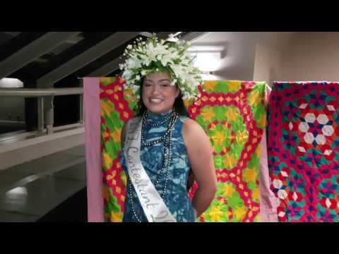 Miss Cook Islands NZ Contestant Magdalene Kareroa: Mangaian Greeting