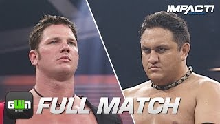 vuclip Samoa Joe vs AJ Styles: Super X Cup Final: FULL MATCH (TNA Sacrifice 2005) | IMPACT Full Matches