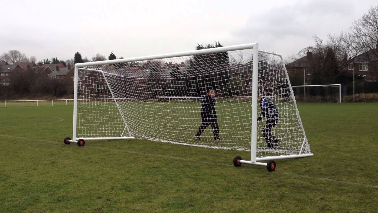 folding goal posts from itsa goal youtube