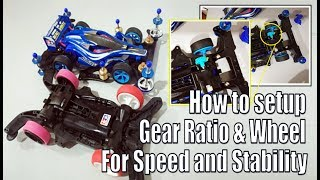 Baixar Tamiya Mini 4WD Tutorial How to setup Wheel and Gear Ratio