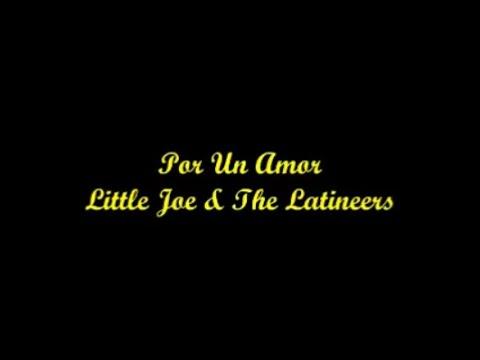 Por Un Amor - Little Joe & The Latineers (Letra - Lyrics)