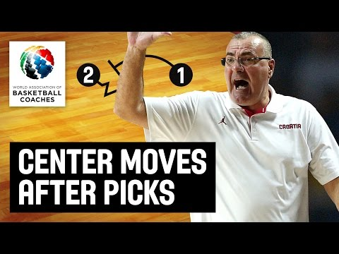 Moves for Centers Following Picks - Jasmin Repeša - Basketba