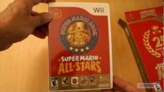 Unboxing: Super Mario All Star 25 aniversario - Nintendo Wii -