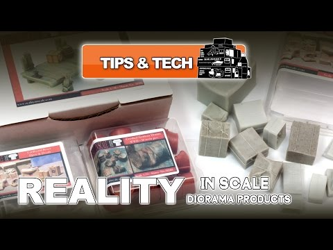 REALITY IN SCALE DIORAMA ACCESSORIES