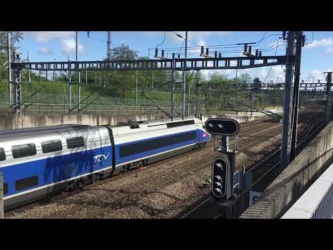 TGV Duplex 29139/29147 effectue un 8052 Rennes Paris Montparnasse