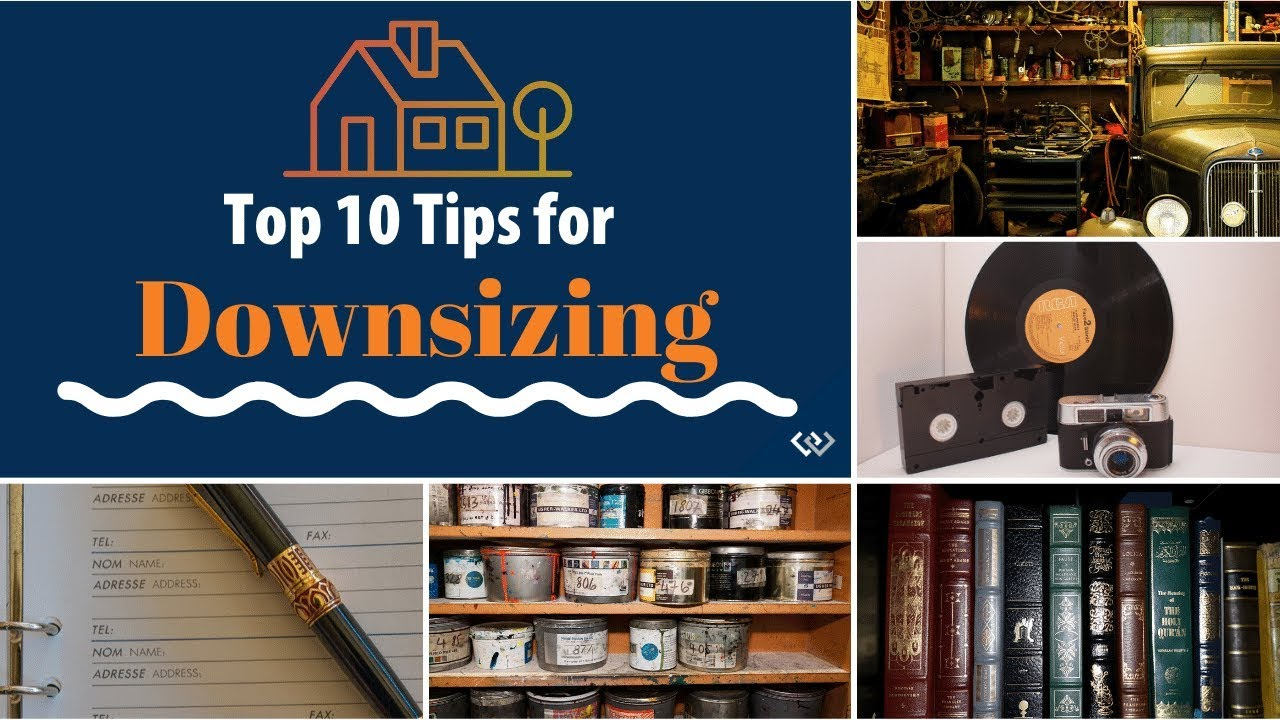 🏡Top 10 Tips for Downsizing📦