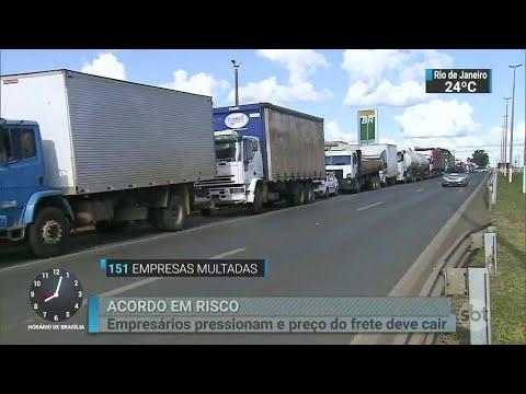Greve dos caminhoneiros ainda provoca tensão em Brasília | SBT Brasil (06/06/18)