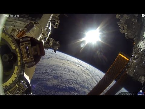 "24/7 LIVE: 👽🌎 ""EARTH FROM SPACE"" ♥ NASA #SpaceTalk (2016) ISS HDVR 