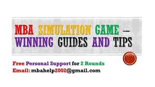 MBA Simulation Guides and Tips 2017   MBA Help 2002