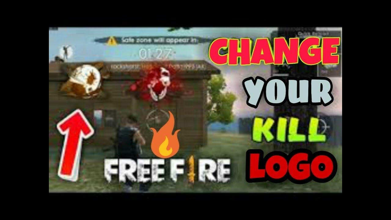 Free fire | how to change kill logo in free fire | free fire black smoke  new update |
