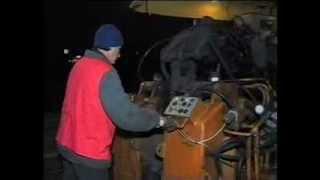 Сварка трамвайного рельса(Работа мобильного рельсосварочного комплекса по реконструкции трамвайного пути на ул.Плехановской 1998г...., 2014-01-16T06:16:40.000Z)