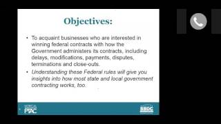 Part 4: How Government Agencies Administer Contracts (FAR)