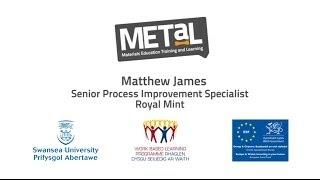 METaL and The Royal Mint - Matthew James