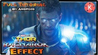 Kinemaster Editing 39  God Of Thunder amp; Lightning Effect  Full TutorialRTT