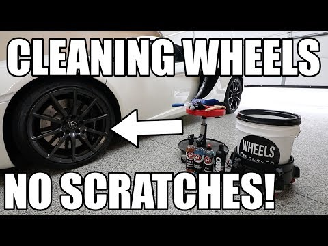 The Best Way To Clean Your Wheels! *Safe for All Wheels*
