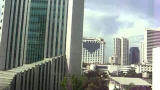 2008/08/31 【車窓】 バンコク BTS スカイトレイン / Bangkok BTS Skytrain: Phloen Chit - Nana