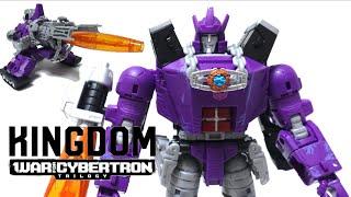 【トランスフォーマー キングダム 】破壊大帝登場!WFC-K28 ガルバトロンヲタファの変形レビュー / Transformers WFC KINGDOM Galvatron