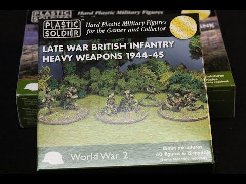Battlegroup: Plastic Soldier Company 15mm British Infantry Heavy Weapons 44-45