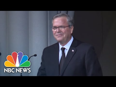 Jeb Bush On Mother Barbara Bush: She Was 'Our Role Model' | NBC News