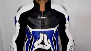 RA-Moto Motorbike Motorcycle Race Leather Suit
