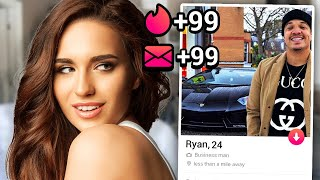 I Signed My Roommate Up For MILLIONAIRE'S ONLY Tinder.. w/ Ryan Swaze