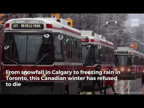 Is a warmer Arctic prolonging the Canadian winter?