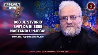 INTERVJU: Aleksandar Mihailović - Bog je stvorio svet da bi sebe nastanio u njega! (6.1.2020)