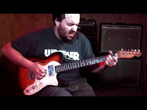 Revelator Guitars Owner Eric's personal Thinline guitar demo by Frank Morley