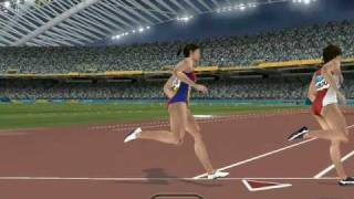 Athens 2004 PC Game - 800m W WR