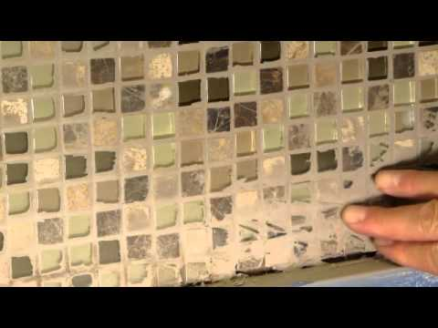 How To Remove Dried Grout Or Mortar From Tile Youtube