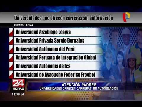 ¡Atención Padres! Conozca Las Universidades Que Ofrecen Carreras Sin Autorización