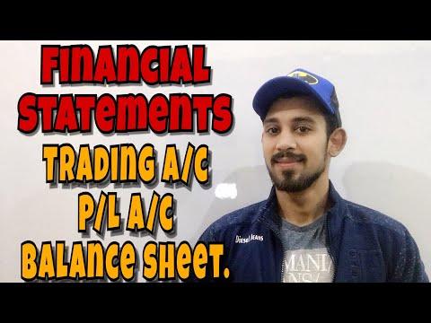 Financial statements | Accounts | class 11