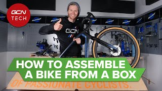 From Box To Bike: H๐w To Assemble A Brand New Bicycle