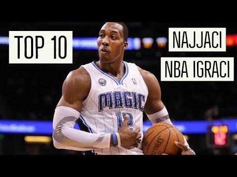 TOP 10 NAJJACIH LJUDI U NBA SVIH VREMENA