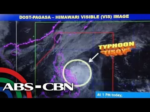 PAGASA Gives Updates On Typhoon Tisoy | 2 December 2019