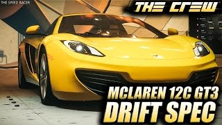The Crew Wild Run - McLaren 12C GT3 Drift Spec - Customization