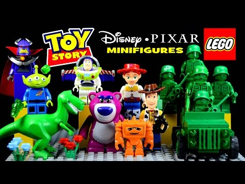 LEGO Toy Story Disney-Pixar Army Men on Patrol #7595 W/ Lotso Chunk Rex Woody & Buzz Lightyear