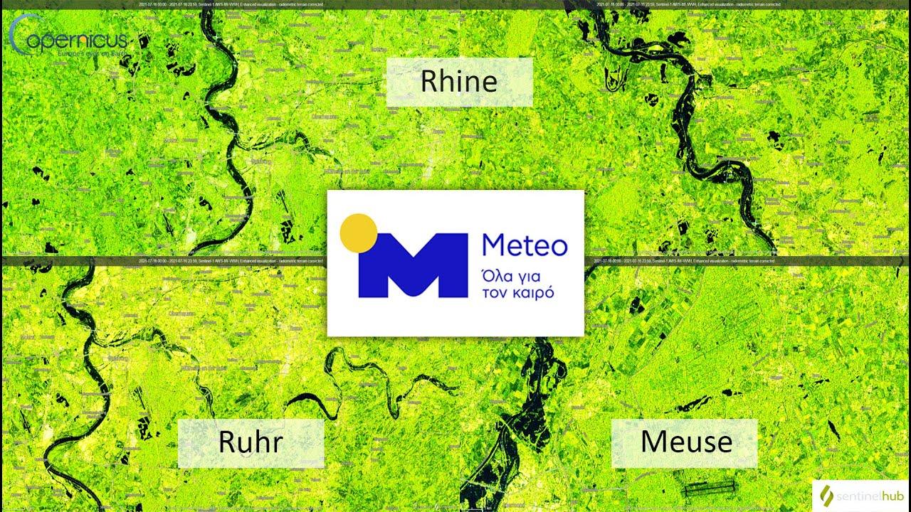 Meteo.gr: Δορυφορικές εικόνες των τελευταίων φονικών πλημμυρών στην Ευρώπη