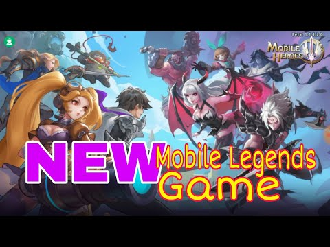 MOBILE HEROES, New Mobile Legends RPG. How To Download And Play.
